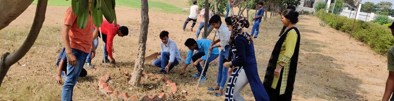 Cleanliness Drive in College