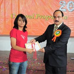 Prize Distribution at Radiance 2010