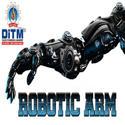 Robotic Arm Using ADXL335 By Electronics and Communication Engineering Students